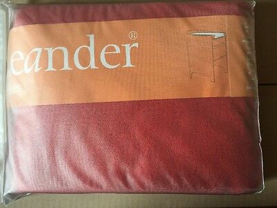 Brand New -Leander- Pack Of 2 Change Table Towels Tango Red Rrp $59.95
