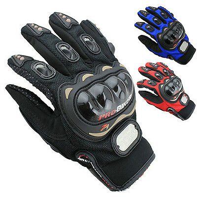 Motocross Racing Pro-Biker Motorcycle Motorbike Cycling Full Finger Gloves Saucy