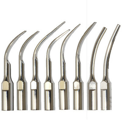 GD1-GD8 Dental Ultrasonic Scaler Scaling Insert Tips For SATELEC DTE Handpiece
