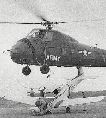 Lot of 5 Vintage US Army CHOCTAW HELICOPTER B&W Photos