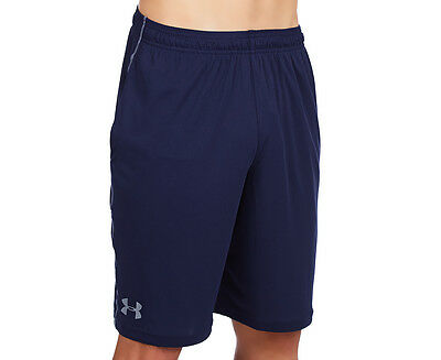 Under Armour Men's Tech Graphic Shorts - Midnight Navy/Steel
