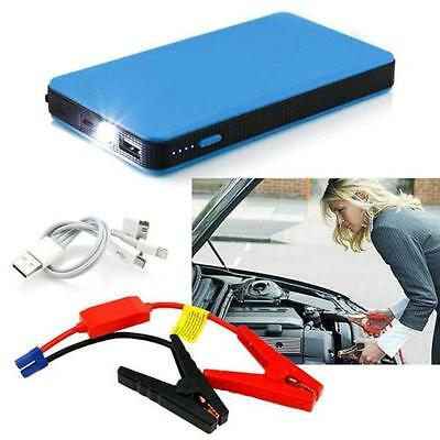 12V 20000mAh Multi-Function Car Jump Starter Power Booster Battery Charger Blue