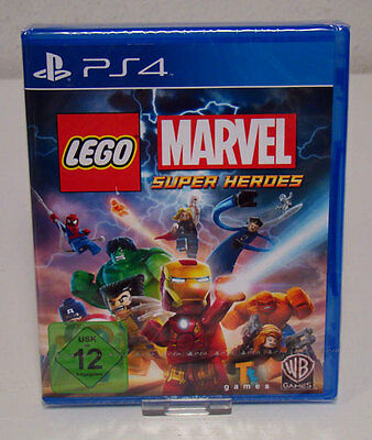 PS4 Lego Marvel Super Heroes Playstation 4 NEU & OVP
