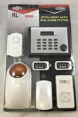 Wireless Phone Autodial Home House Office security System Burglar Alarm