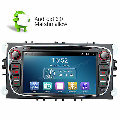 """GA7162 7"""" Android 6.0 Car DVD CD Player Radio Stereo GPS OBD2 WiFi BT For Ford F"""
