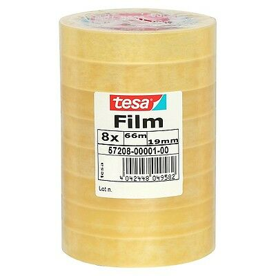 tesa Film standard, transparent, 19 mm x 66 m