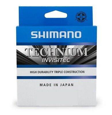 Shimano Technium Invisitec 300m Monofilschnur Monoschnur Made in Japan