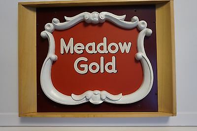 Meadow Gold Advertising Plaque