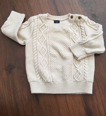 Baby Gap 18-24 month Boy Girl Knit sweater With Buttons VGUC