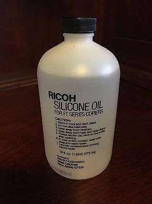 Ricoh Silicone Oil For Ft Series Copiers 16 Oz