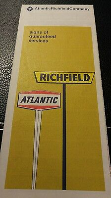 1969 Atlantic Richfield Orange County California Road Map