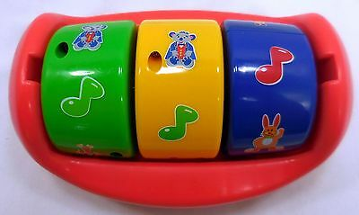 Baby Einstein Discover and Play Exersaucer Replacement Spinner Toy Red 4344