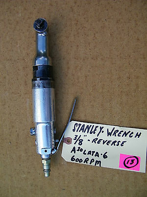 """Stanley -Pneumatic Nutrunner-A30Lata-6,  600  Rpm, 3/8"""", Reverse , Used"""