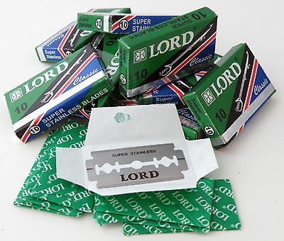 LORD Classic Super Stainless Double Edged Razor Blades
