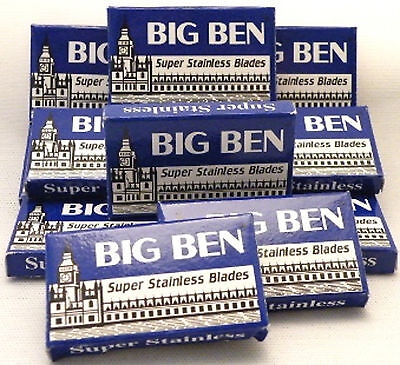 BIG BEN Super Stainless Double Edged Razor Blades