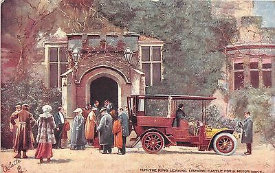 Postcard  Celebrities  Of  The  Motoring  World    Edward  Vii  Tuck