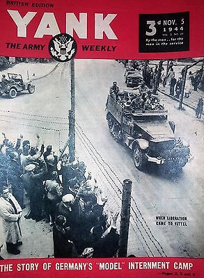 Yank The Army Weekly Nov. 26, 19 12, and 5th of 1944