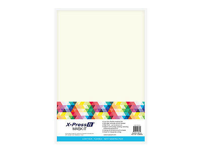 Xpress It Mask It Sheets 15X10 8/Sh