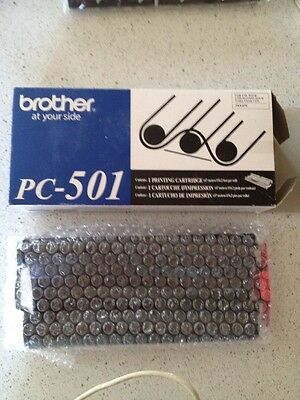 Genuine Brother PC-501 PC501 Fax Printing Cartridge Fax-575 NEW