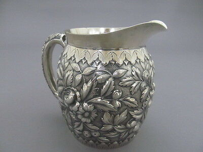 Howard & Co, N.y. Sterling Small Repousse Pitcher
