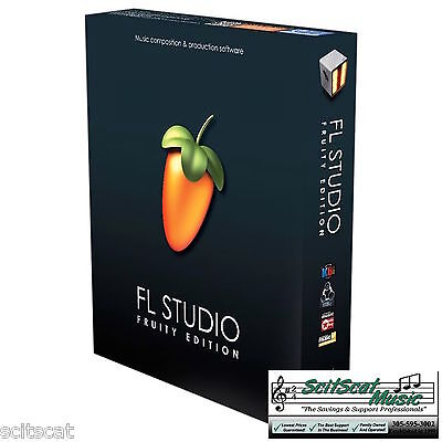Image Line FL Studio 12 Fruity Loops Software PC DAW FREE Updates for Life