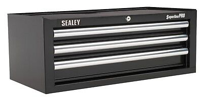 Sealey Add-On Chest 3 Drawer with Ball Bearing Runners - Black AP33339B