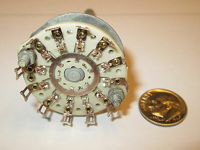 Crl Ceramic  Rotary Switch  1 Pole - 12  Positions   Non Shorting   1 Pcs.  Nos
