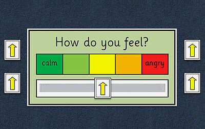 My Emotion / My Anger / My Feelings Scale Chart - Autism / Behaviour / ADHD