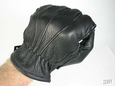 Brand New Black Driving Sheepskin Leather Gloves Outdoor Walking