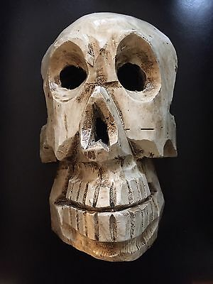 Antique Mexican Skull Mask