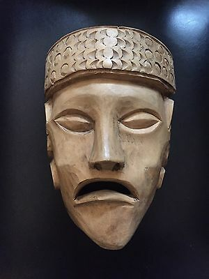 Antique Mexican Indigenous Mask