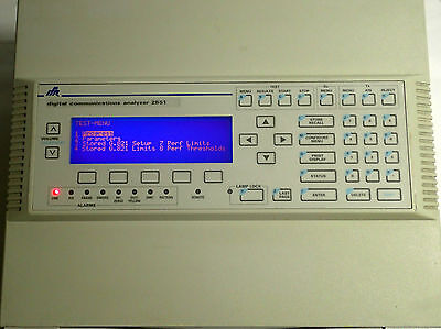 IFR / MARCONI 2851 DIGITAL COMMUNICATIONS ANALYZER 50-60Hz -  NICE UNIT!!