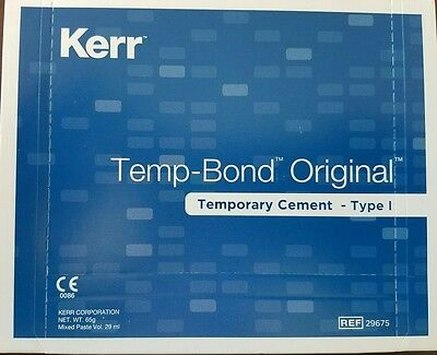 Kerr Temp Bond Original TempBond Temporary Cement Dental
