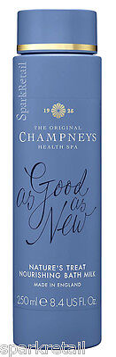 Champneys Spa As-Good-As-New Nature's Treat Nourishing Bath MILK 250ml