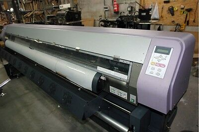 "Mimaki JV3 250SP  98"" Grand Format Solvent Color Printer - Bulk Ink System"