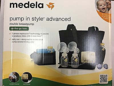 Medela Pump In Style Advanced Double Breastpump On-the-go Tote