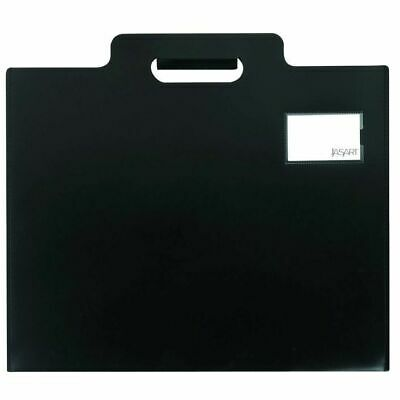 Jasart A2 Art Folio Case Sleeve With Handle - Black