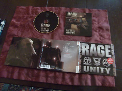 Rage  Unity   Digi     Cd  + 1 Bonus   Track   +  Video  Track