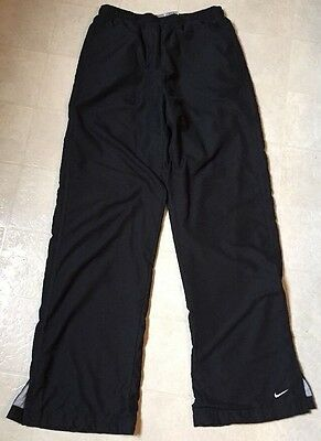 NIKE Cotton-Lined Black Athletic Workout Pants Women's Size Small (4-6)