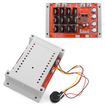 10-50V/60A/3000W DC Motor Speed Control PWM HHO RC Controller with Case TE573