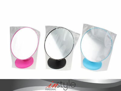 24 free standing bathroom shaving makeup 16cm dia mirror magnification 4