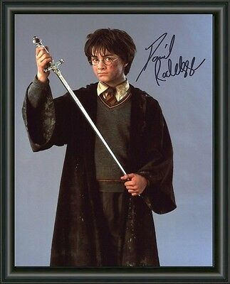 Daniel Radcliffe - Harry Potter  A4 Signed Autographed Photo Poster  Free Post