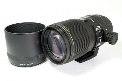 Sigma AF 150 mm f/2.8 APO Macro DG OS HSM Lens For Canon **Excellent**