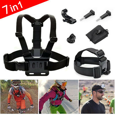 Head Strap Mount Chest Harness for GoPro HD Hero 5 4 3+ 3 2 1 Chesty Accessories