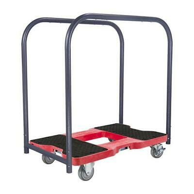 Snap-Loc 1500 Lb Industrial Strength Professional E-Track Panel Cart Dolly Red