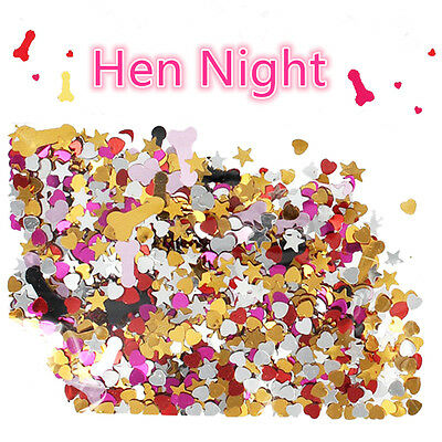 Funny Single Adult Hen Night Bachelor Party Decors Table Scatter Confettis