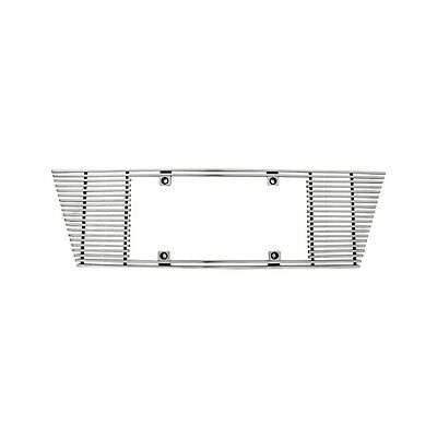 IPCW CWL-433A 4mm Polished Aluminum Billet Straight Edge License Plate Frame