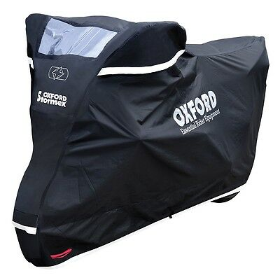 Oxford Stormex Motorbike Motorcycle Cover Outdoors Weather Protection Small