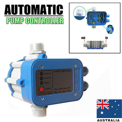 Automatic Water Pump Pressure Controller Auto Control Unit Electronic Switch AU!