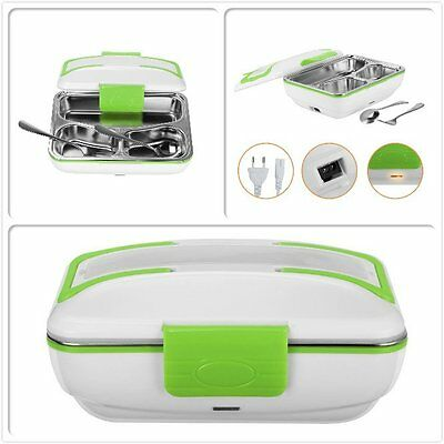 Electric Lunch Box Food Heater Portable with Removable Stainless Steel Container